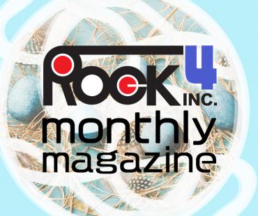 ROCK monthly magazine 4月号