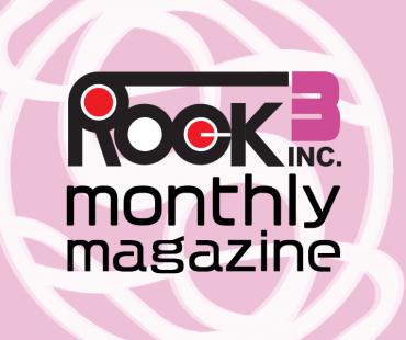 ROCK monthly magazine3月号